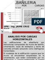 Analisis Por Cargas Horizontales