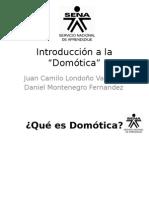"""Introducción a la """"Domótica"""".ppt"""