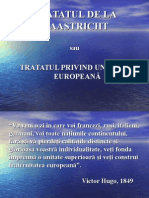 Prezentare Tratat Maastricht