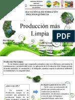 Desarrollo Presentación Acuerdo de Produccion Limpia