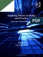 Empregando Teoria em Política