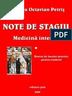 1_2008 Dr a Petris Note de Stagiu