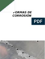 Formas de Corrosión