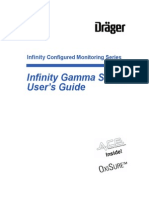 User Manual Monitor Sig. Vitales Dräger Infinity Gamma XL