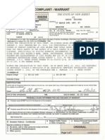 Wrongful New Jersey Arrest Warrant of Bruce Aristeo