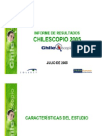 informe chilescopio 2005