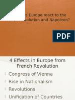 1- reactionstorevolution