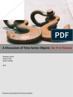 A Discussion of Time Series Objects for R in Finance