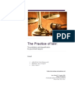 Practice of Law