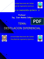 DESTILACION DIFERENCIAL 2006A