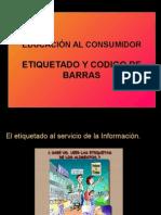 Etiquetado y Codigo de Barras