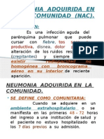NEUMONIA  ADQUIRIDA  EN  LA  COMUNIDAD  (NAC) 2015. Ambulatorio.pptx