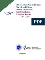 HHS Disparities Action Plan Progress Report 2015.pdf