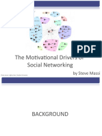 Motivational Drivers of Social Networking