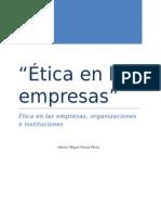 Ética en Las Empresas