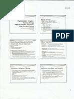 Psychotropic Drugs II. Pharmacology. Pharmacotherapy. Pharmacy