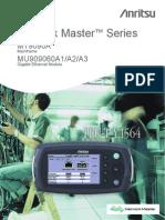 Manual Anritsu MU909060A1A2A3