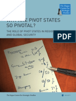 Why Are Pivot States So Pivotal- The Role of Pivot States in Regional and Global Security
