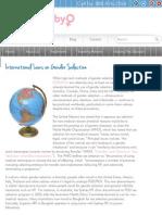International Laws on Gender Selection | Gender Baby.pdf