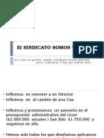 El SINDICATO SOMOS TODOS.ppt