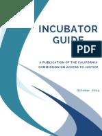 2014 Incubator Guide