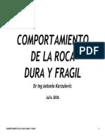 06 Comportamiento Roca Dura