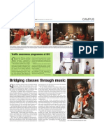 bridging classes through music