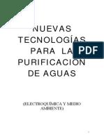 Nuevas Tecnologias Para La Purificacion de Aguas