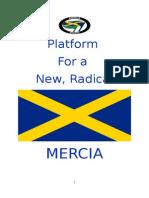 Platform for a New, Radical Mercia