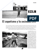 Revista Rebeldia, El Zapatismo y La Sociedad Civil