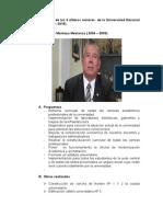 análisis de rectores UNC