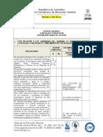 Lista de Chequeo Sistem Integrado