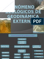 Fenómenos Geológicas de Geodinámica Externa