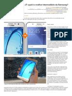 Galaxy On7 Ou Galaxy J7_ Qual é o Melhor Intermediário Da Samsung