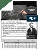 INST MACHADODE ASSIS 179 Caderno de Prova Professor de Sries Iniciais