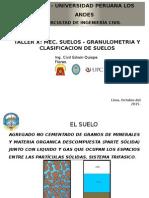 Clasificación de suelos - Clase 1