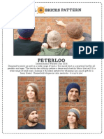 Peterloo Hat Pattern