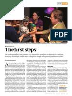 child development the first steps
