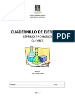 Cuadernillo Ejercicios Quimica 7mo