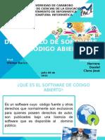 Software Libre Presentaciones