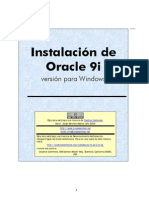Instalación de Oracle 9i