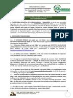 Edital Luis Domingues