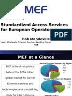 Presentation7 MEF