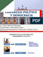 Power Point Liderazgo Politico