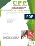 Deuda Externa Del Perú 2010 2015
