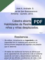 Resiliencia en niños y niñas desplazados by José Alonso Andrade Salazar