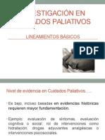 Investigación en Cuidados Paliativos