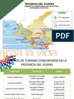 Centros de Turismo Comunitario en Guayas