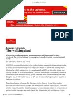 The Walking Dead _ the Economist