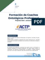 Formacion de Coaches Semi Presencial